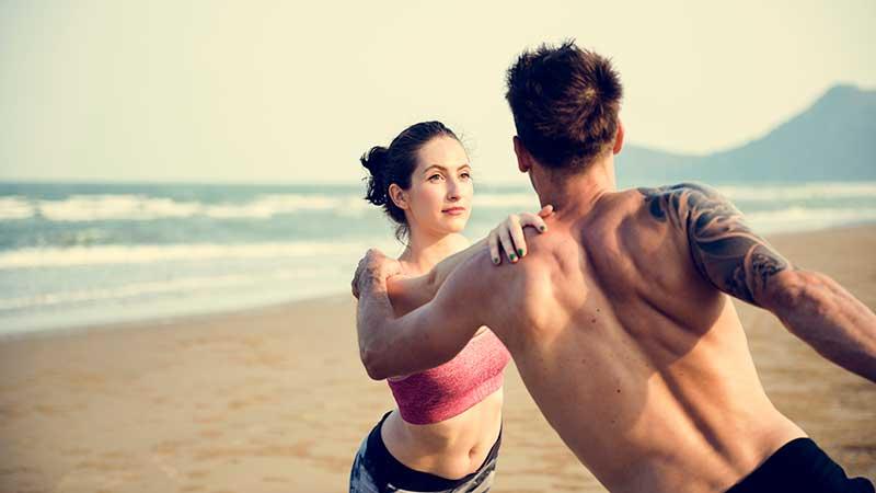Rimettersi in forma durante le vacanze