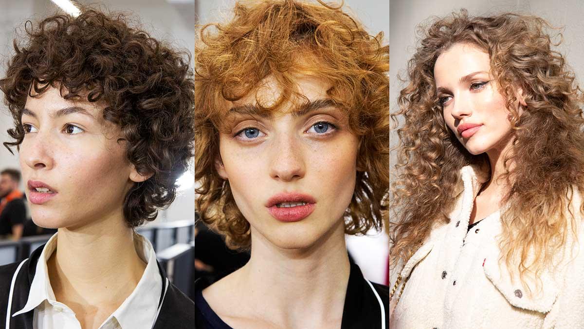Tendenze capelli inverno 2020. Tre tagli per capelli ricci. Libera le tue onde! - Foto Charlotte Mesman