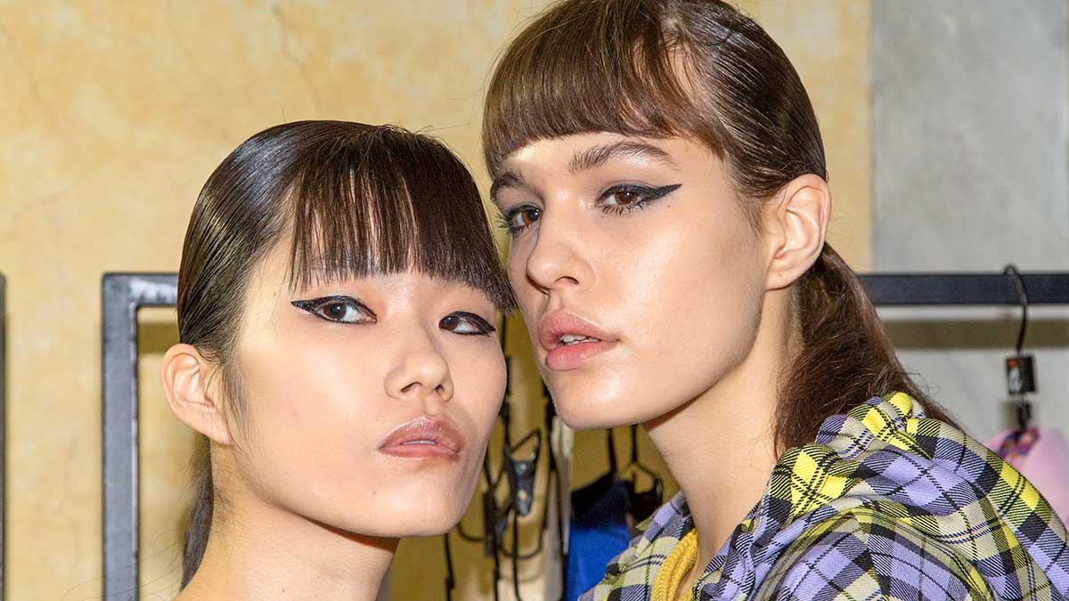 Le nuovissime tendenze tagli di capelli per l'autunno inverno 2020 2021 Backstage Ultrachic - Foto Charlotte Mesman