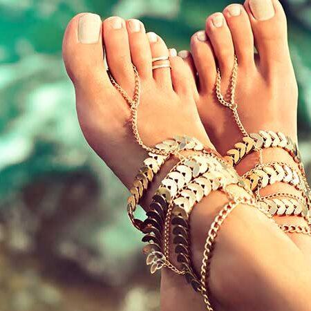 La cura dei piedi. Piedi perfetti da mostrare con orgoglio