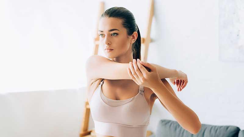 Snellire la parte posteriore delle braccia