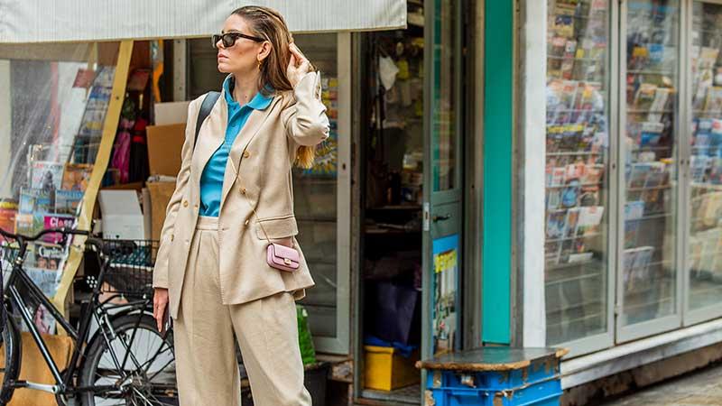 Tendenze moda autunno inverno 2020 2021. Il panta-tailleur