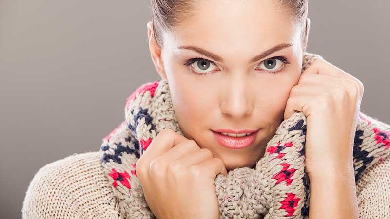 Il freddo e la pelle. Cosa succede, come la possiamo proteggere