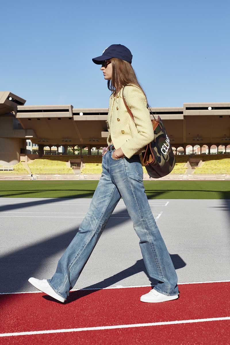 Tendenze denim jeans 2021. Photo: courtesy of Celine