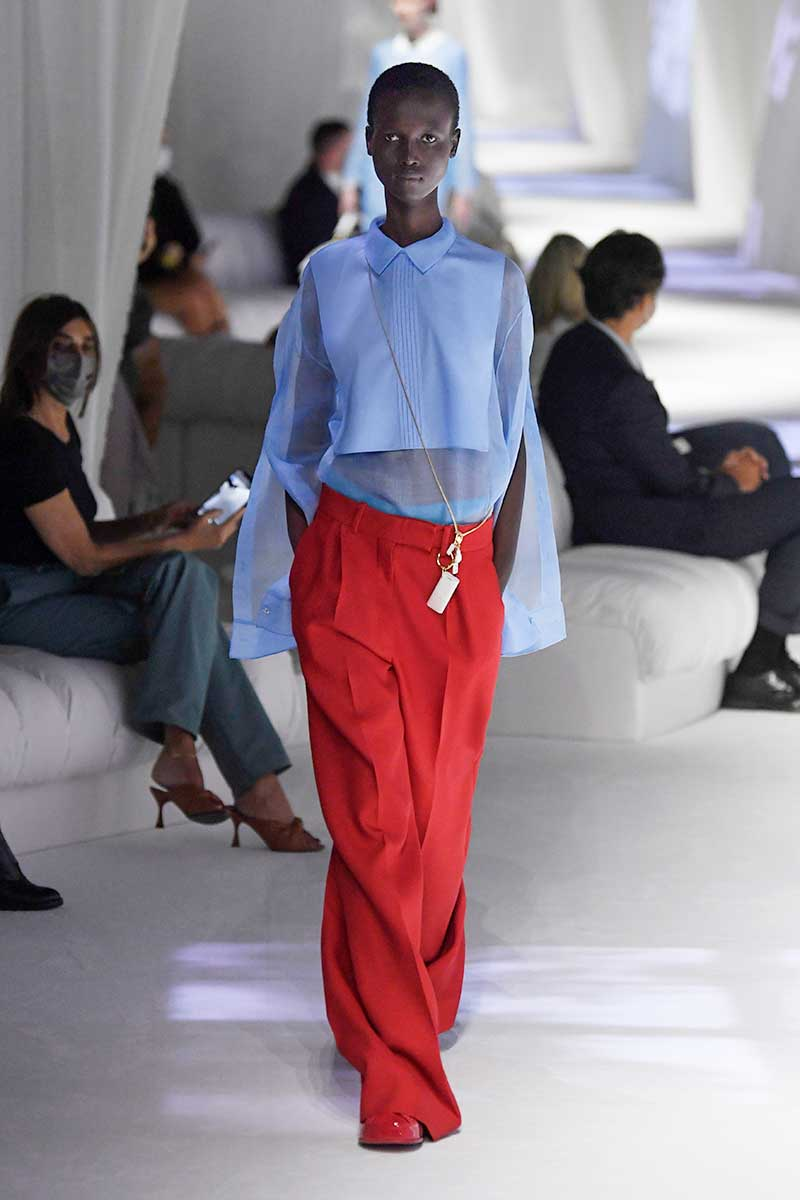Tendenze moda donna primavera estate 2021. Sette must-haves per la nuova stagione - Foto: Fendi