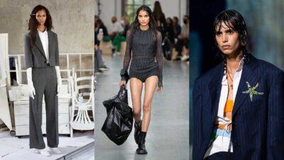 Tendenze moda primavera estate 2021. Il gessato