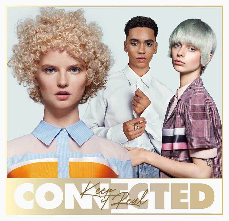Tendenze capelli primavera estate 2021. I tagli di capelli ricci per la donna. Photo: Toni&Guy, Connected collection 2021 (Keep it Real)