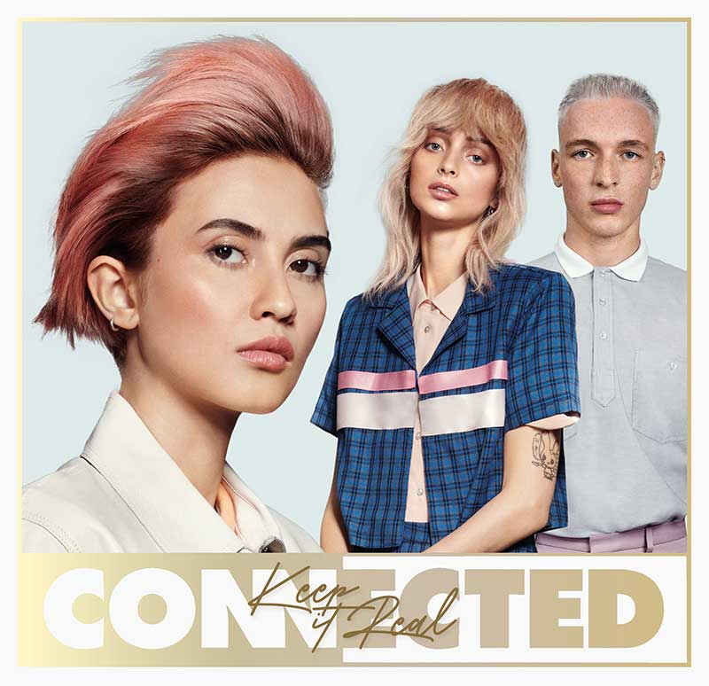 Tendenze capelli primavera estate 2021. I tagli di capelli per la donna. Photo: Toni&Guy, Connected collection 2021 (Keep it Real)