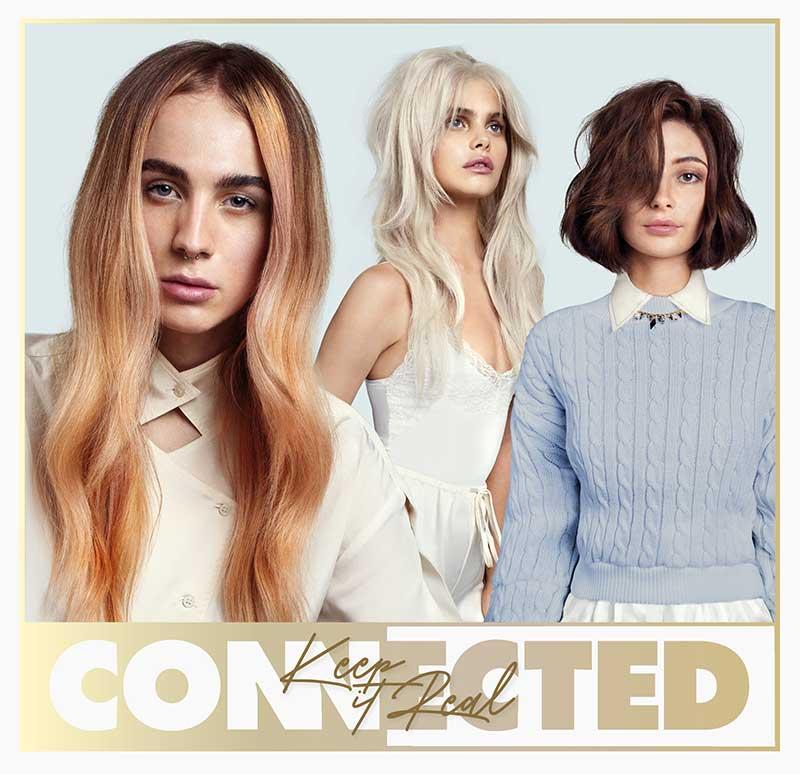 Tendenze capelli primavera estate 2021. I tagli di capelli medio lunghi per la donna. Photo: Toni&Guy, Connected collection 2021 (Keep It Real)
