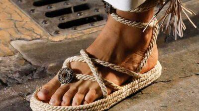 Tendenze scarpe estate 2021. Sandali. Photo: courtesy of Etro