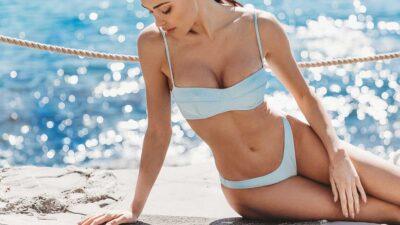 Moda mare 2021. Costumi 'second skin' per un look da mare sensuale e libero