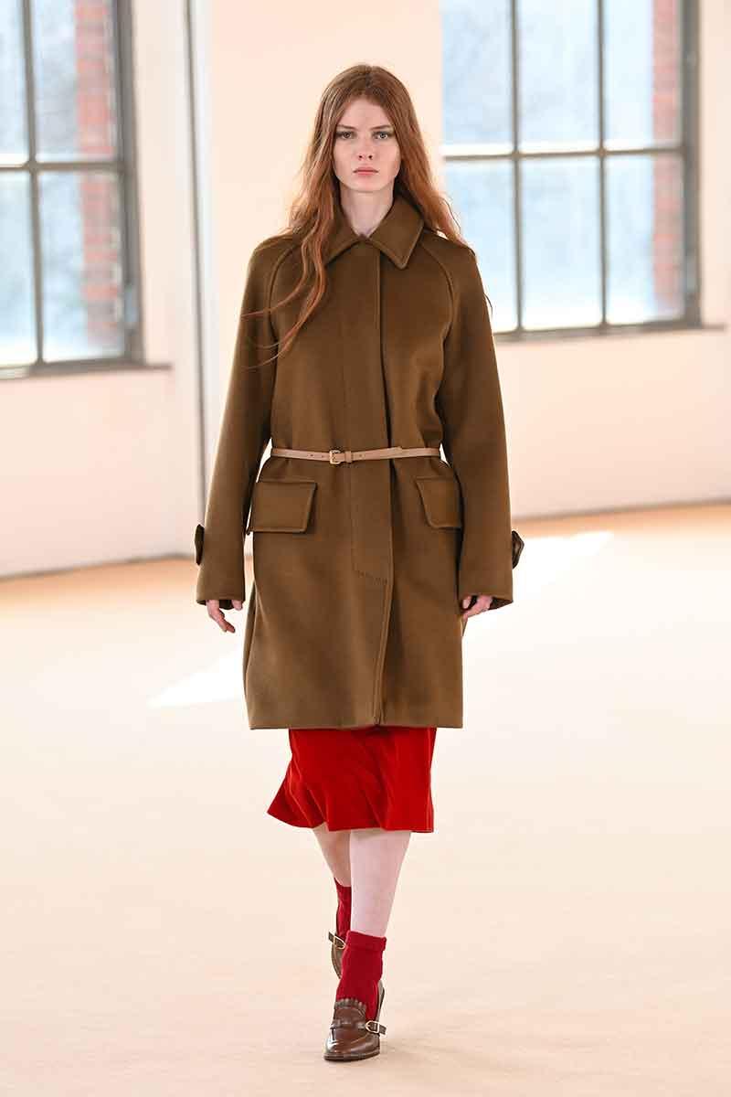 I colori della moda autunno inverno 2021 2022. la top ten dei colori moda - Foto Max Mara