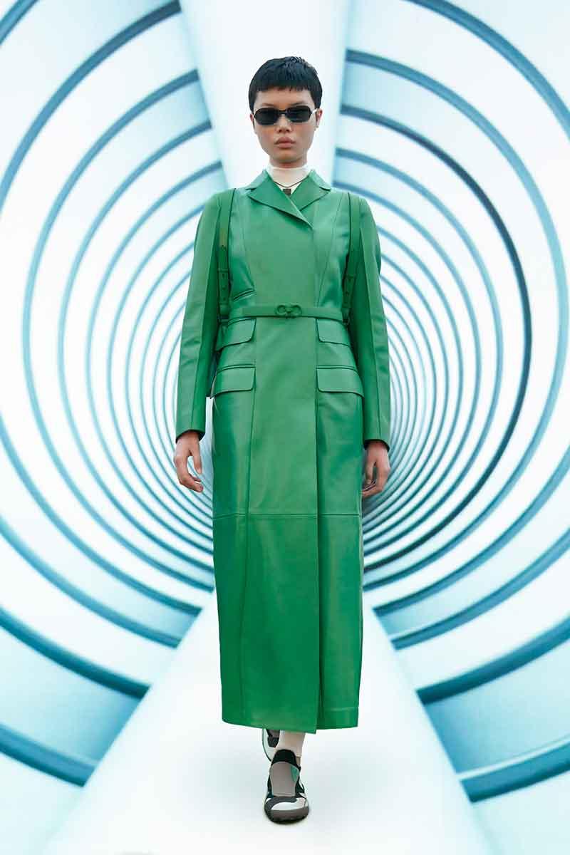 I colori della moda autunno inverno 2021 2022. la top ten dei colori moda - Foto Salvatore Ferragamo