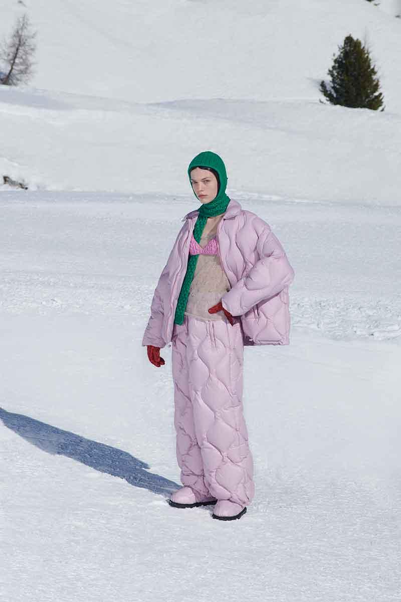 I colori della moda autunno inverno 2021 2022. la top ten dei colori moda - Foto Miu Miu