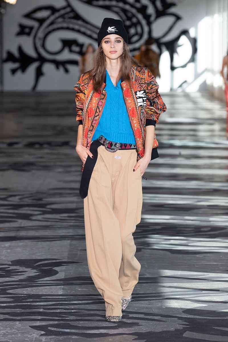 I colori della moda autunno inverno 2021 2022. la top ten dei colori moda - Foto Etro