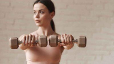 Fitness. Due manubri per tenersi in forma