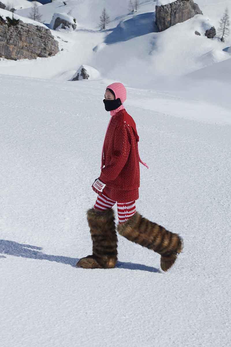Moda accessori autunno inverno 2021 2021. Le più belle tendenze stivali - Photo Courtesy of MiuMiu