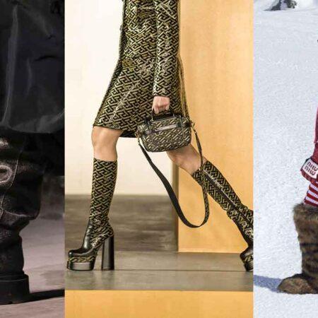 Moda accessori autunno inverno 2021 2021. Le più belle tendenze stivali