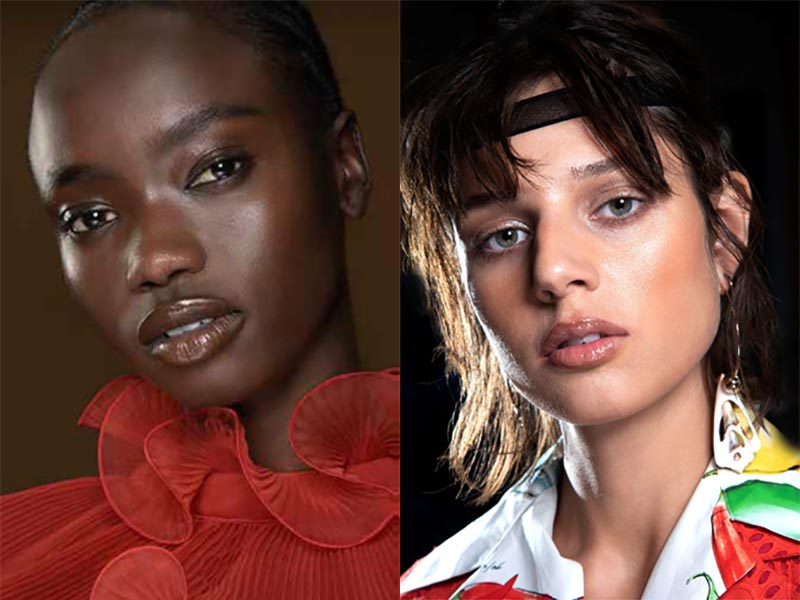 Nuovi trend trucco autunno inverno 2021 2022. Make-up NOW – NOWSTALGIA. Photo: courtesy of MAC Cosmetics