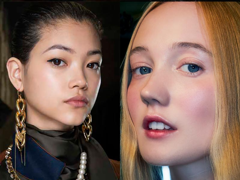 Nuovi trend trucco autunno inverno 2021 2022. Make-up trend VITALITY – BACK TO LIFE. Photo: courtesy of MAC Cosmetics