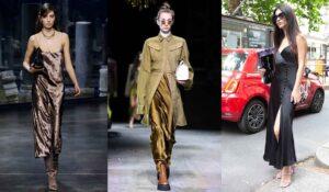 7 motivi per indossare uno slip dress. Abiti sottoveste di tendenza per la moda autunno inverno 2021 2022